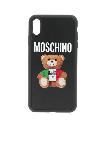 Moschino - Xs Max iPhone case in black