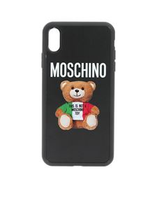 Moschino - Cover iPhone Xs Max nera