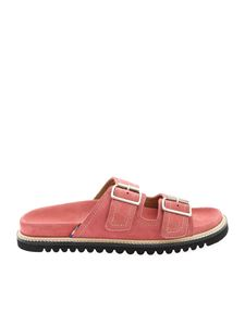 Paul Smith - Double buckles andals in pink