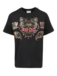 Kenzo - Tiger embroidery T-shirt in black