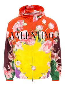 Valentino - Giacca Flying Flowers multicolore