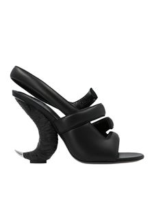 Givenchy - Show Horn 4G sandals in black