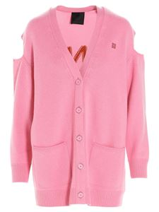 Givenchy - 7 GG cardigan in pink