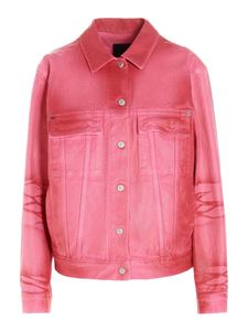 Givenchy - Giacca Luster denim rosa