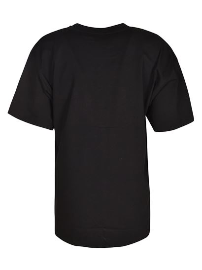 Moschino - Multicolor print t-shirt in black