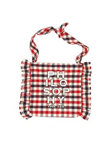 Philosophy di Lorenzo Serafini - Borsa logo rossa Philosophy By LS Kids