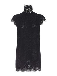 Dsquared2 - Lace shirt dress in black