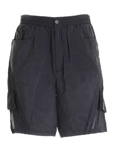 Y-3 - CH3 Sanded shorts in black