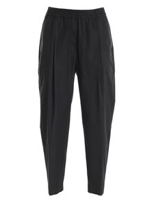 Aspesi - Relaxed fit trousers in black