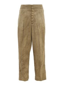 Dondup - Daisy pants in army green