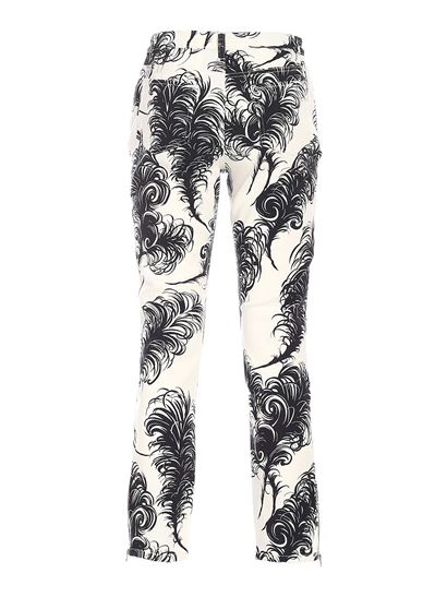 Moschino - Jeans in black and white