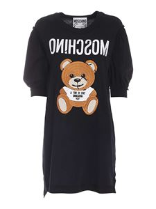 Moschino - Inside Out Teddy Bear dress in black