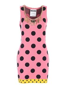 Moschino - Polka dot dress in pink