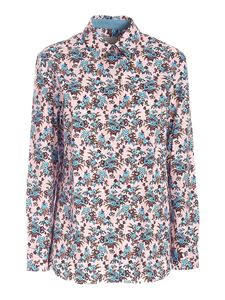 Paul Smith - Floral print shirt in pink