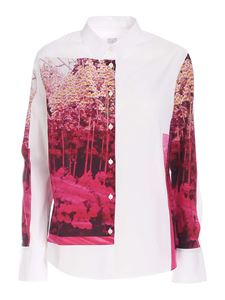 PS by Paul Smith - Printed shirt in white
