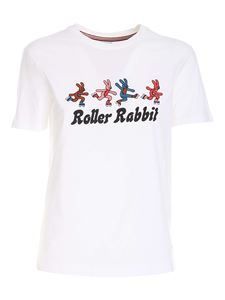 PS by Paul Smith - Roller Rabbit print T-shirt in white