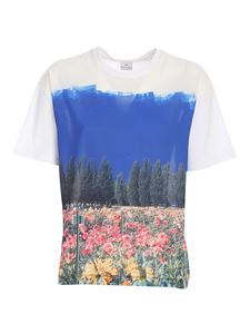 PS by Paul Smith - Front print T-shirt in white