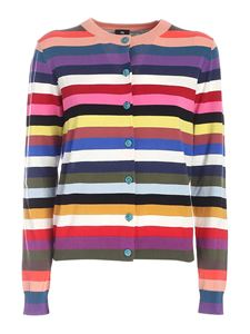 PS by Paul Smith - Striped cardigan in multicolor