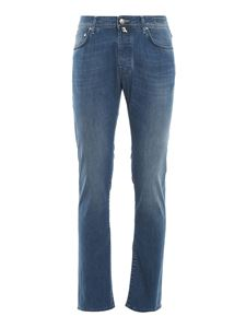 Jacob Cohën - Jeans Style 688 tinti con indaco naturale