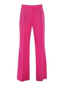 PS by Paul Smith - Pleats pants in fuchsia
