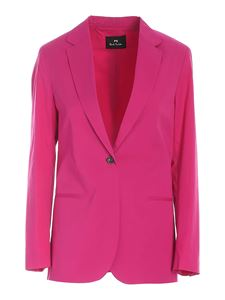 PS by Paul Smith - Single-breasted jacket in fuchsia