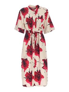 Paul Smith - Shirt dress in beige and red