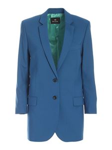 PS by Paul Smith - Single-breasted jacket in blue