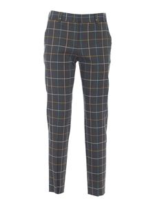 PS by Paul Smith - Checked pants in green