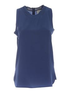 Paul Smith - Sleeveless top in blue