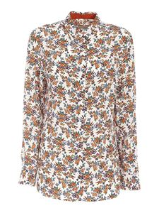 Paul Smith - Floral print shirt in white