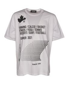 Dsquared2 - Dominate Sport T-Shirt in white