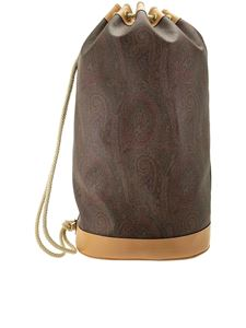 Etro - Paisley bucket bag in brown