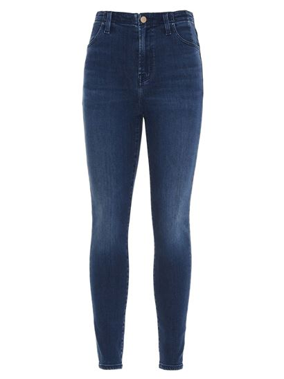 J Brand - Darted jeans in blue