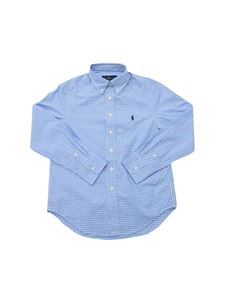 POLO Ralph Lauren - Vichy button-down shirt in light blue and white