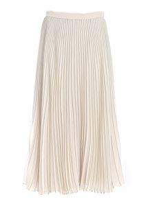 Max Mara Weekend - Andes pleated skirt in ivory color