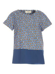 Max Mara Weekend - Calipso blouse in blue and green