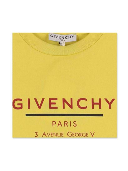 Givenchy - Logo T-shirt in yellow