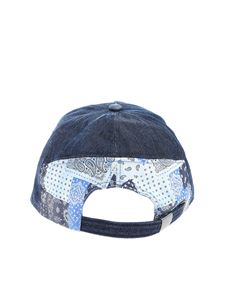 MC2 Saint Barth - Logo embroidery baseball cap in blue