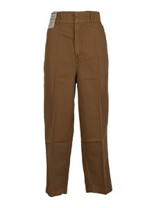 Re-HasH - Penny pants in camel color