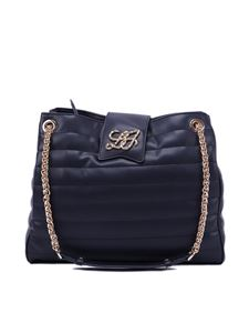 Liujo - Quilted faux leather tote bag