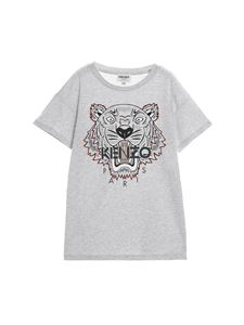 Kenzo - Tiger Crest t-shirt in gray