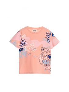 Kenzo - Printed t-shirt in peach pink