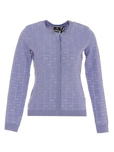 Elisabetta Franchi - Viscose blend  cardigan in purple