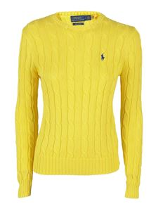 POLO Ralph Lauren - Logo embroidery jumper in yellow