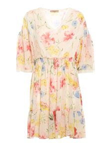 Twin-Set - Floral printed dress multicolor