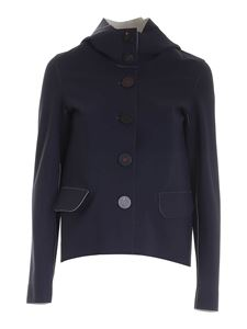 RRD Roberto Ricci Designs - Jacket with logo in blue