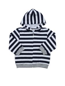 Jo Milano - Striped sweatshirt in blue and white