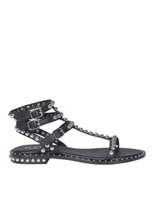 Ash - Play sandals in black