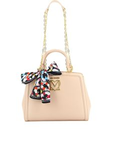 Love Moschino - Nude faux leather tote bag