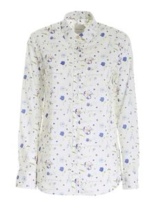 Paul Smith - Floral printed shirt in white
